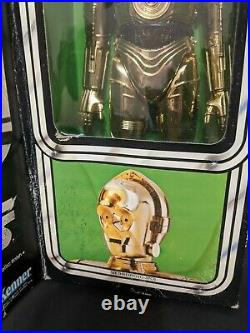 Vintage 1977 Star Wars 12 C-3po See-threepio Large Size Action Figure Sealed