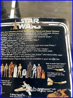 Vintage 1978 Kenner STAR WARS 12 Back JAWA MOC action figure