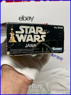 Vintage 1978 Kenner Star Wars JAWA 12 inch large Figure Series Factory Sealed