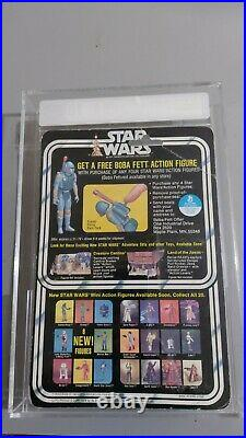 Vintage 1978 Star Wars Darth Vader Action Figure AFA Graded 70EX+