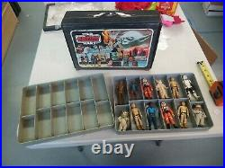 Vintage 1980 Kenner STAR WARS The Empire Strikes Back Case with12 Action Figures