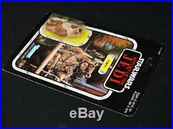 Vintage 1983 Kenner Star Wars RotJ Paploo Ewok Figure 77-Back Mexico MOC AFA It