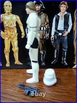 Vintage 1984 Kenner Star Wars POTF Last 17 Luke Stormtrooper Figure Complete