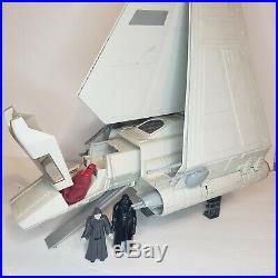 Vintage 1984 Star Wars Imperial Shuttle Sound Works Complete Figures Included