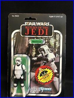 Vintage 1984 Star Wars Return of the Jedi Biker Scout Action Figure Kenner