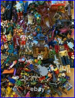 Vintage 80s 90s Figure Toy Lot Bundle Ghostbusters He-man Turtles star wars wwf