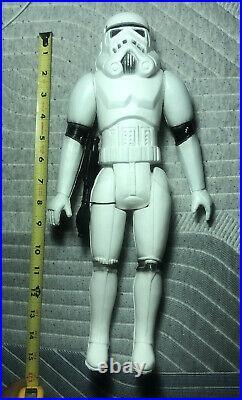 Vintage 80s-90s Star Wars Stormtrooper Figure Bootleg MEXICAN blow mold plastic