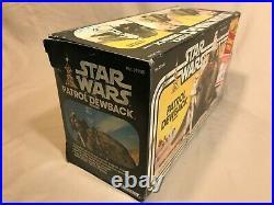 Vintage KENNER Star Wars 1983 PATROL DEWBACK FIGURE In Original Box Unopened