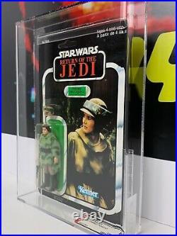 Vintage Kenner STAR WARS ROTJ Princess Leia Endor AFA 80 Action Figure (90 sub)