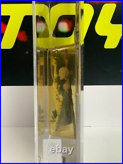 Vintage Kenner STAR WARS action figure 1985 POTF Amanaman AFA 80 MOC 92 back