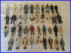 Vintage Kenner Star Wars 1977-1983 Loose Action Figure 39 piece LOT