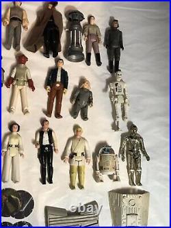 Vintage Kenner Star Wars Action Figure Job Lot First 12, Lily Ledy Bundle