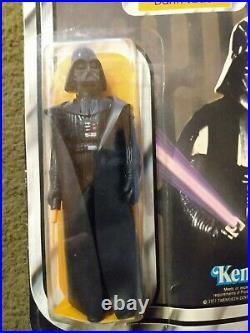Vintage Kenner Star Wars Darth Vader Figure 1977- Unopened 12 Back