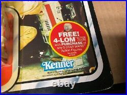 Vintage Kenner Star Wars ESB R5-D4 figure free 4-lot special offer UNPUNCHED ORI