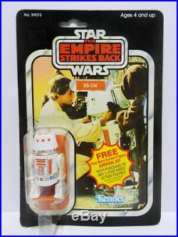 Vintage Kenner Star Wars Esb R5-d4 Figure Sealed On Card Moc 1977 1980