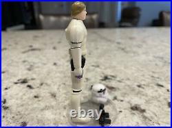 Vintage Kenner Star Wars Luke Stormtrooper Figure POTF Last 17 1984 HURRY