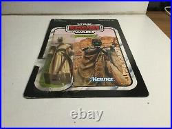 Vintage Kenner Star Wars Sand People Figure On 41 Empire Strikes Back, Back Card