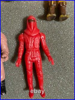 Vintage Lot of 16 Bootleg Mexican Star Wars Figures