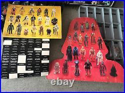 Vintage Original Kenner 40 Star Wars Figure Weapon Accessory Vader Case Lot