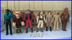 Vintage STAR WARS Palitoy Kenner 1982 REBEL TRANSPORT Hoth Backpacks Figures Box