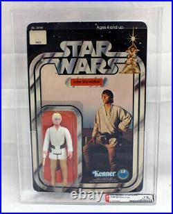 Vintage Star Wars 12 Back-A Carded Luke Skywalker Action Figure AFA 75 C85 B