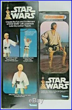 Vintage Star Wars 12 Luke Skywalker Action Figure Sealed In Box 1977 Kenner