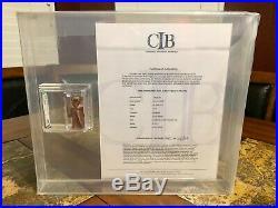 Vintage Star Wars 1977 Kenner Vinyl Cape Jawa Hk Action Figure Afa 90 Nm+ Cib