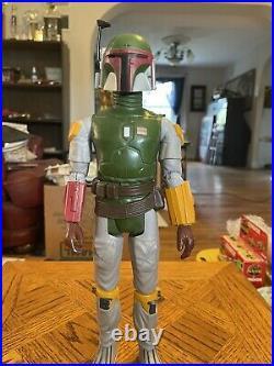 Vintage Star Wars 1979 12 Inch Boba Fett Loose Figure 100% Complete Original