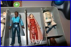 Vintage Star Wars 25 Figure Lot Original 1977-1983 Kenner Leia Darth Jawa Yoda