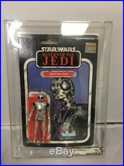 Vintage Star Wars Action Figure Death Star Droid MOC 1979 80Y-NM Graded