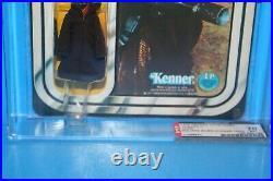 Vintage Star Wars Afa Graded Mint On Card Jawa 12 Card Back C 78 Figure Kenner