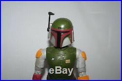 Vintage Star Wars BOBA FETT 12 INCH figure complete original Kenner NEAR MINT