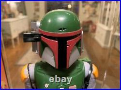 Vintage Star Wars BOBA FETT 12 INCH figure complete original NEAR MINT WITH BOX