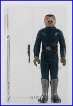 Vintage Star Wars Blue Snaggletooth Figure 1978 Graded Ukg