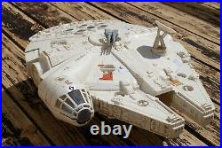 Vintage Star Wars Complete Millennium Falcon Vehicle + Figures Kenner Works