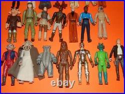 Vintage Star Wars Darth Vader Action Figure Collectors case & Action Figures