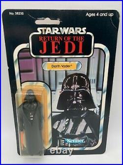 Vintage Star Wars Darth Vader Made In Mexico MOC Figure ROTJ 77A Kenner 1983