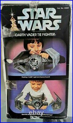 Vintage Star Wars Darth Vader TIE Fighter 1977 & 1977 Darth Vader Figure
