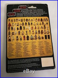Vintage Star Wars Darth Vader Tri Logo Figure On Card