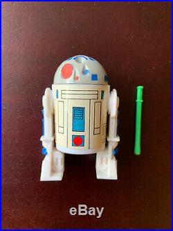 Vintage Star Wars Droids Cartoon R2D2 Pop-up Lightsaber Action Figure