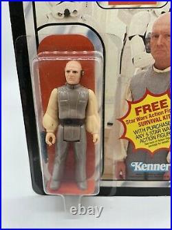 Vintage Star Wars ESB Lobot Figure 1981 Kenner 41 Back Unopened MOC