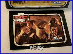 Vintage Star Wars ESB YELLOW 6 PACK ORIGINAL BOX & FIGURES 1980 Kenner RARE