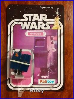 Vintage Star Wars Figure 20 / 21 back Recard Set Palitoy 1978 Boba Fett, Droid