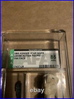 Vintage Star Wars Figure Graded Afa 85 Yak Face Last 17 Potf