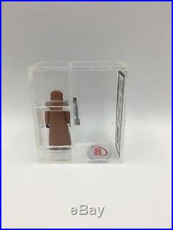 Vintage Star Wars Figure JAWA VINYL CAPE UKG not AFA 80% HK KENNER HOLY GRAIL