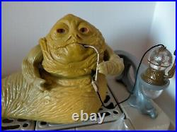 Vintage Star Wars Figure Jabba the Hutt playset complete excellent condition