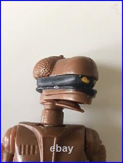 Vintage Star Wars Figure Last 17 EV-9D9 POTF 1985
