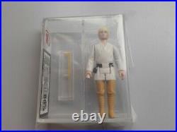 Vintage Star Wars Figure Luke Skywalker Double Telescoping Saber DT Hilt UKG80