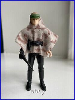 Vintage Star Wars Figure Luke Skywalker Endor Battle Poncho Last 17