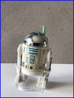 Vintage Star Wars Figure R2-D2 Pop Up Lightsaber Last 17 POTF 1985